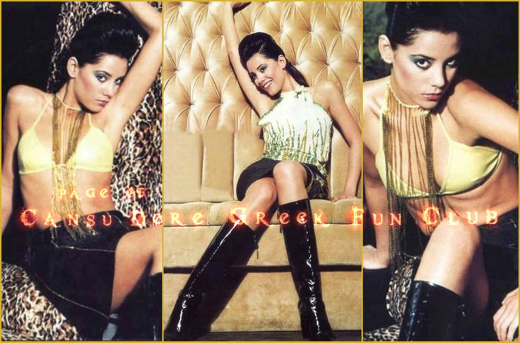 #CansuDere  #Gala Magazine August 11, 2002