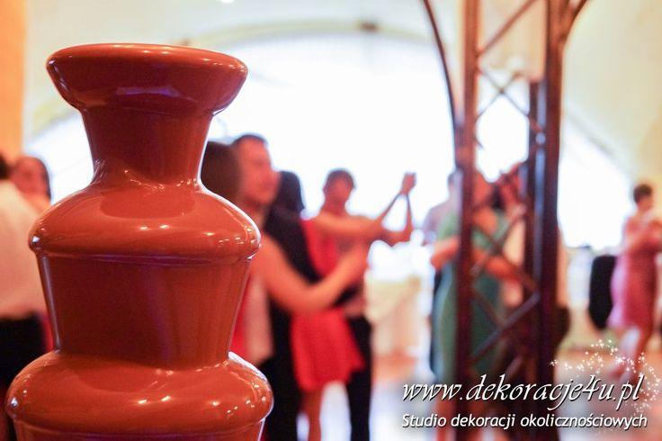 Czekoladowa przyjemość - www.inspiracje-weselne.pl