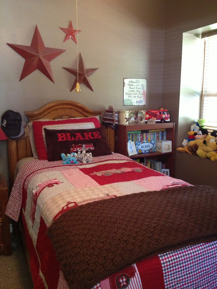 17 best Fire truck bedroom theme images on Pinterest