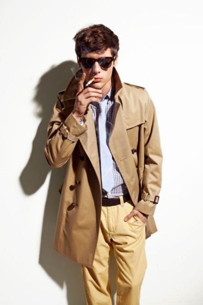 ...Men Style, Dresses, Khakis Trenchcoat, Men Fashion, Jackets But, Trench Coats, Smoke, Camel Trench, Man Style