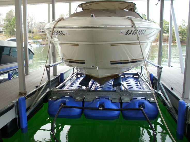6,600lb Capacity Boat Lift. This lift will accomodate boats up to 6,600lbs, this includes fuel, water and gear. This lift is a three tank system and requires 4.5ft of water to operate. This lift can be installed in a minimum of an 10ft wide slip and a maximum of a 16ft wide slip. Get a …