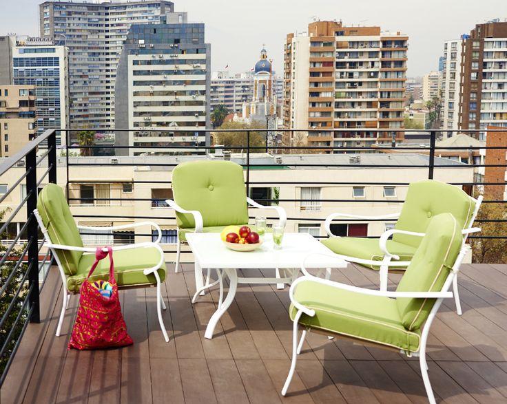 21 best vive mejor tu terraza images on pinterest cl for Comedor terraza easy
