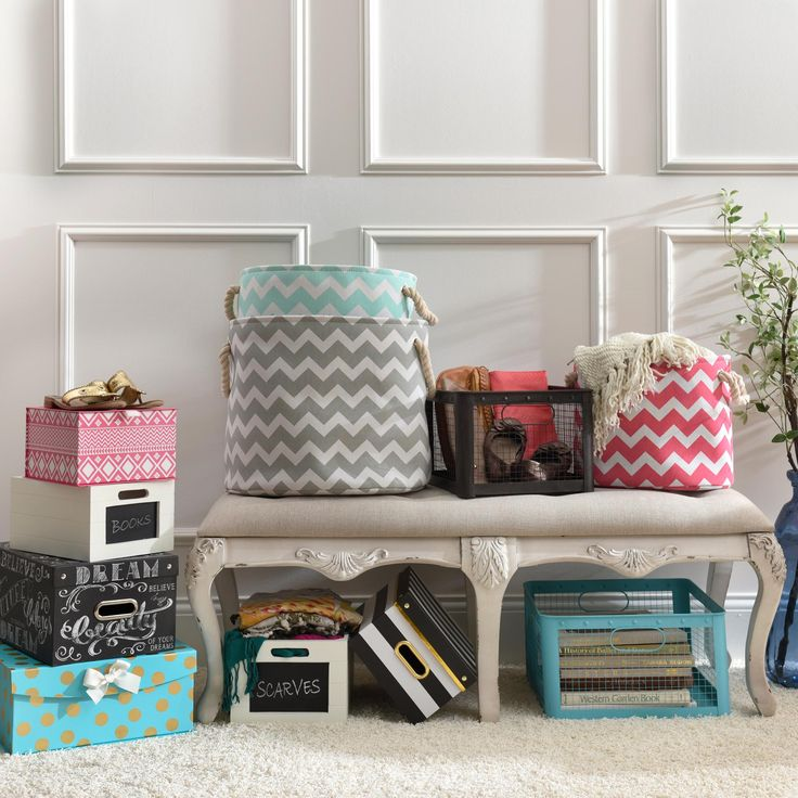 Kirklands Selection Of Decorative Storage Boxes And Storage Baskets Offers A Smart And Stylish Solution To Fit Your Design
