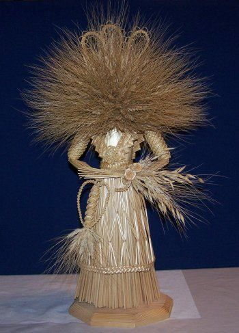 Corn dolly uploaded by Ingrid Reinhoud