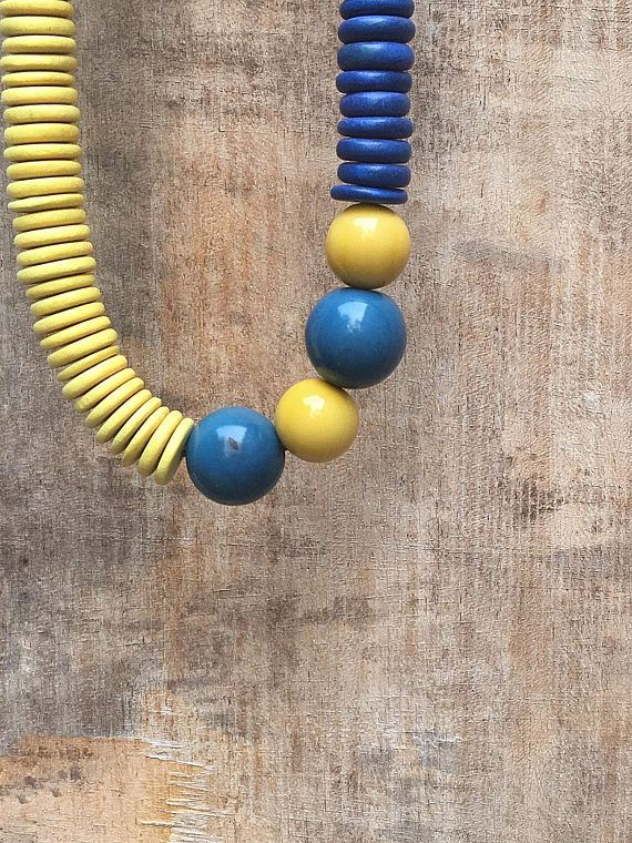 Natural Necklace  Boho Necklace Asummetric Necklace Tagua