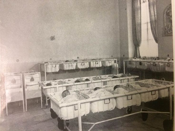 The nursery ward at Misericordia (Mercy Philadelphia) Hospital, 1920s. Were you born at Misericordia? Let us know! #ThrowbackThursday #tbt
