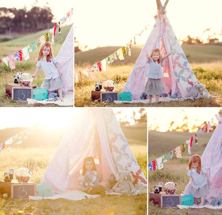 @Renee Hindman Love this photographers style, this teepee is awesome!