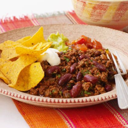This Mexican-style rich slow cooker dish is perfect for crowds.