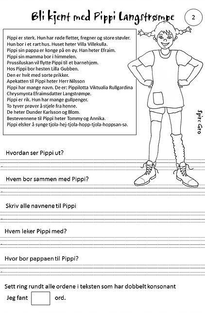 Spireserien - blant annet om Pippi