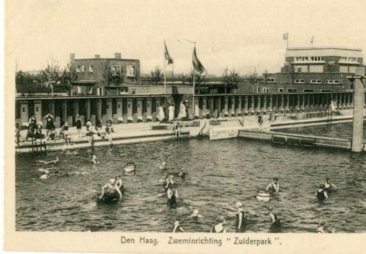 Zuiderpark zwembad.