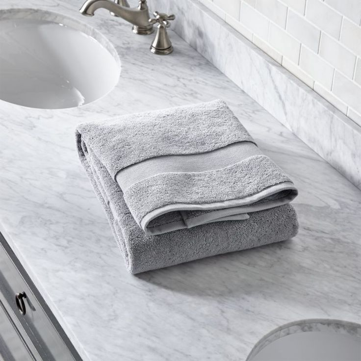 Free Shipping.  Shop Turkish Cotton 800-Gram Grey Bath Towel.  Luxurious Turkish cotton yarn in classic grey weaves an extremely plush, dense and incredibly soft towel.
