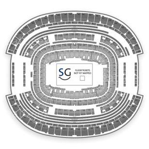 AT&T Stadium Seating Chart Concert