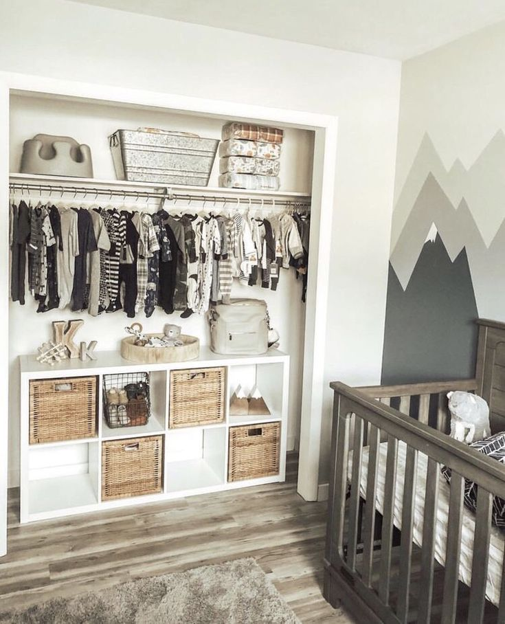 Such A Good Idea To Have Cubbies In The Closet For Toys