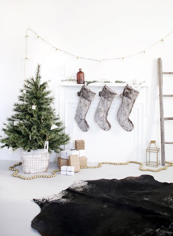 Nordic-style Christmas style by Merry Thought.