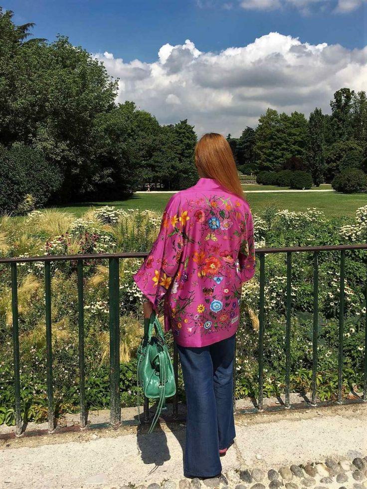 OUTFIT: KIMONO E PENSIERI ESTIVI #kimono #ootd #balenciagabag #milan