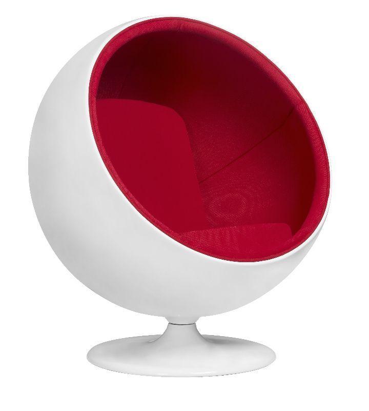 Ball Chair, La Poltrona Sfera Di Eero Aarnio
