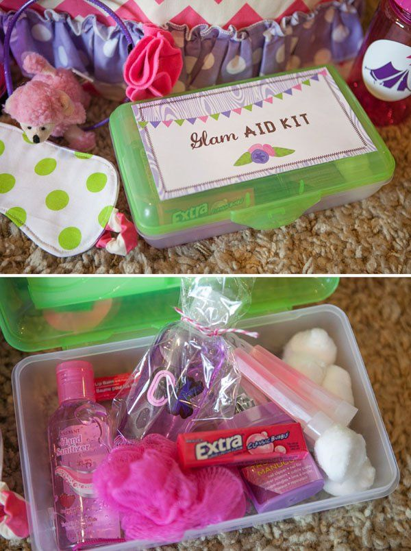 Glamping party (indoor camping for girls)