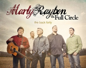 Like the name of his band, Marty Raybon has come Full Circle. From starting out as part of a bluegrass family band with his brothers in the early '70s, to riding the wave at the top of country music fame with his group Shenandoah to releasing music with his brother Tim, Marty has come back to his