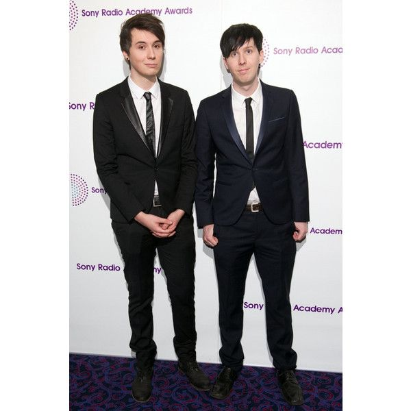 Paola Lopez ❤ liked on Polyvore featuring dan and phil, people, youtubers and dan howell