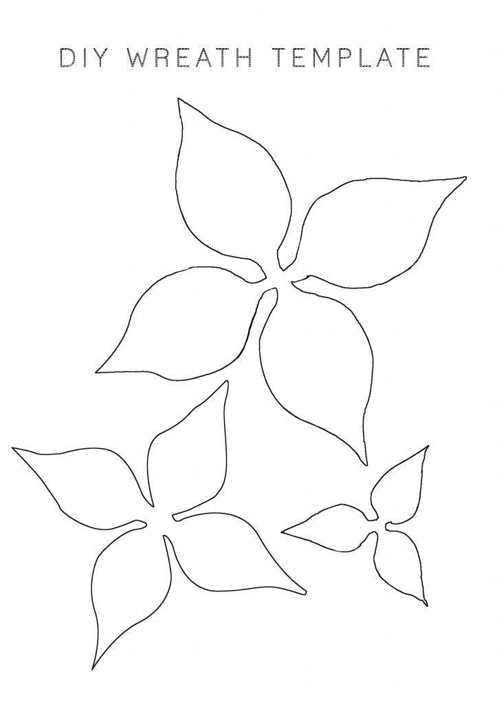 19 best flower templetes images on Pinterest Leaf template - leaf template for writing