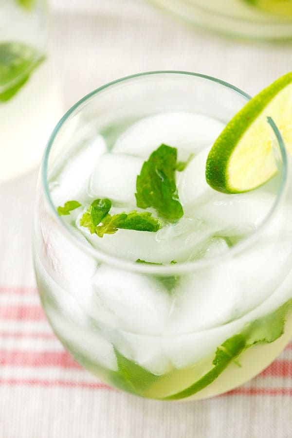 how to make mojito drink without alcohol