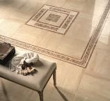 Travertini - The Travertini tile collection offers a glamorous and timeless style. Thetile embodies the natural appeal of vein-cut Travertine marble with the added aesthetics of a stunning 'lappato' surface.