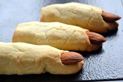 biscuits doigts de sorcières halloween (12)
