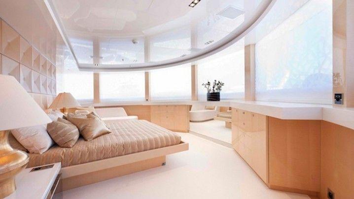 Interior luxos dintr-un yacht