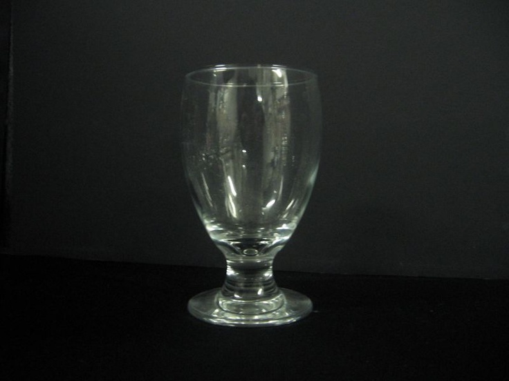 Water Goblet. No need to wash glasses for your special event.  We do the work for you at a great price!  We also offer delivery and pickup for an additional fee depending on the delivery location in the Niagara Region .  Please inquire.
