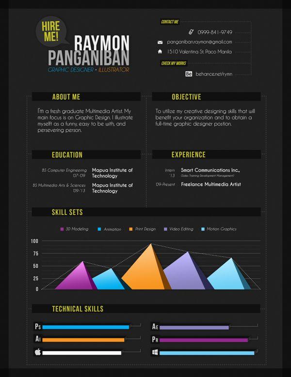 Creative CV Example | Original CV Design | Resume Template | CV ...