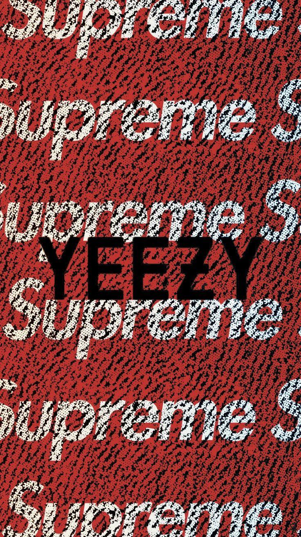 Wallpaper Supreme Yeezy adidas adidas • Yeezy