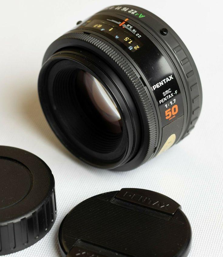 Smc Pentax F 50mm F 1 7 Autofocus Full Frame Lens Very Good Condition Lenses Pentax Autofocus Full Frame