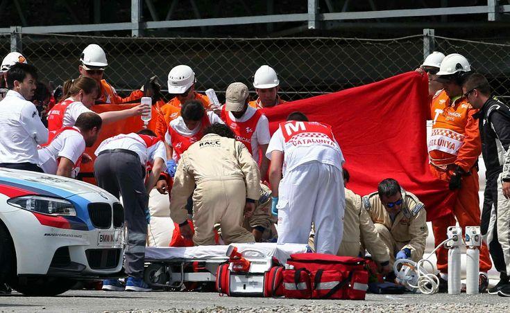 Espanhol Luis Salom morre após  grave acidente a 170 km/h na Moto2 #globoesporte