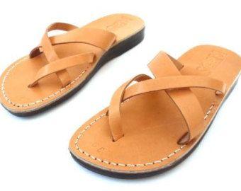 VENTA! Nuevas sandalias de cuero con tirantes. Zapatos para Mujeres y Hombres Chancletas Cintas Pisos Calzado de Diseñador Bíblico de Jesús