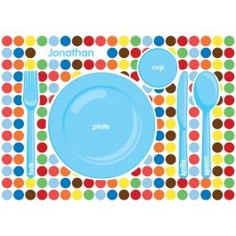 1000 Images About Personalised Placemats On Pinterest
