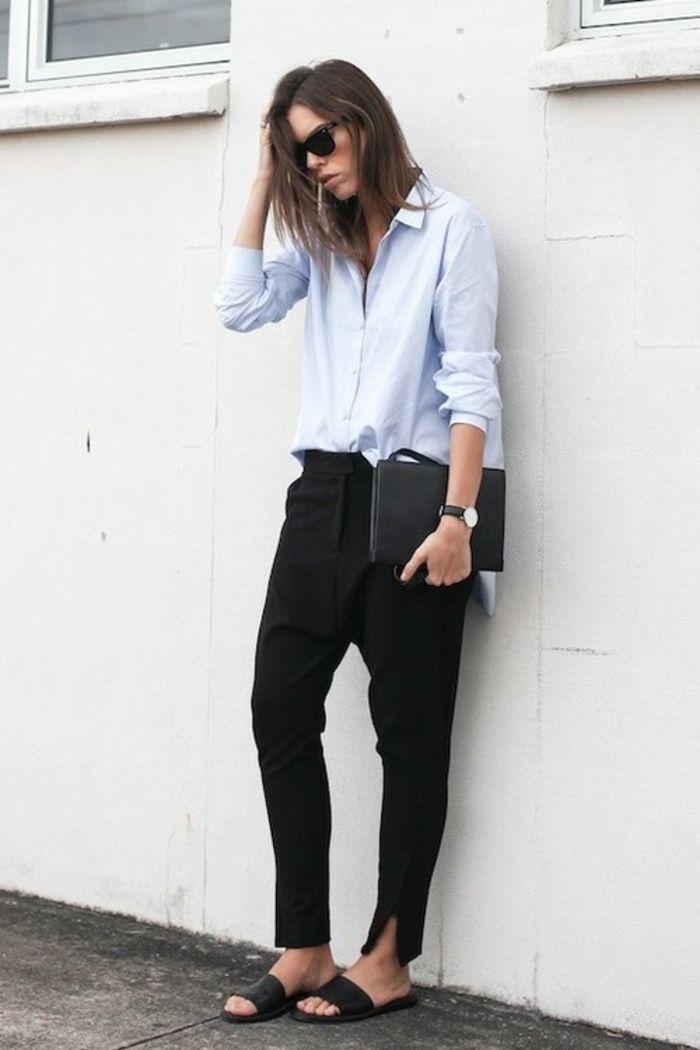 best 25 tenue chic femme ideas on pinterest tenue business tenue classe femme and tenue classe. Black Bedroom Furniture Sets. Home Design Ideas