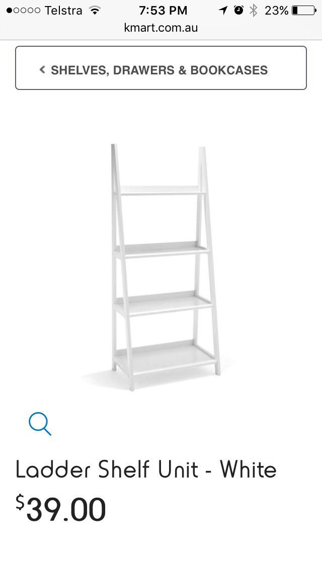 Kmart shelf for laundry