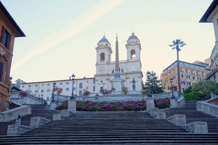 If you want to see the Spanish Steps in Rome without anyone around, you can try going at 6:30am like I did, to get this shot.