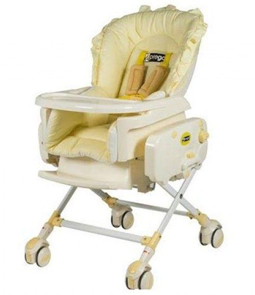 Prego Bambino Sallanabilen Mama Sandalyesi Sarı