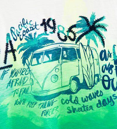 Imagem 7 de T-shirt furgoneta da Zara
