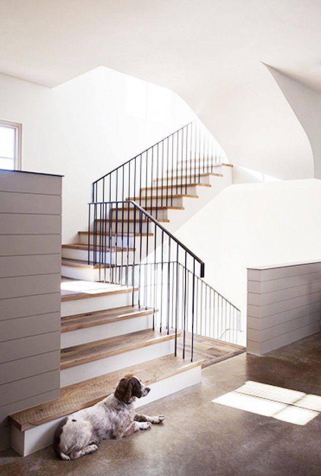 simple modern railing