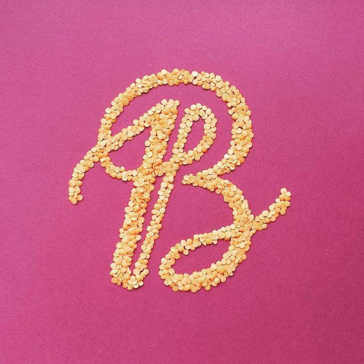 Letter B Hand Lettering Lettering
