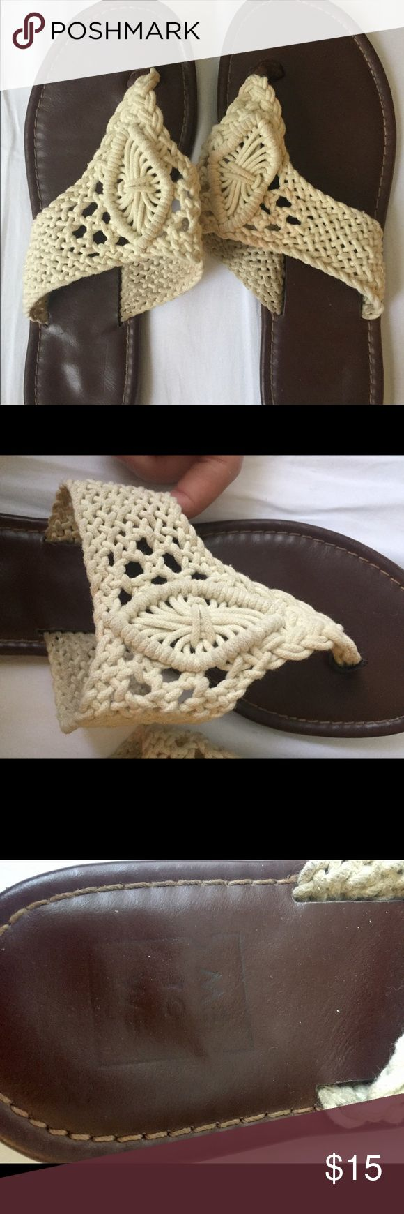 crochet sandals adorable sandals to wear anywhere! cute crochet design, from me to we at PACSUN PacSun Shoes Sandals