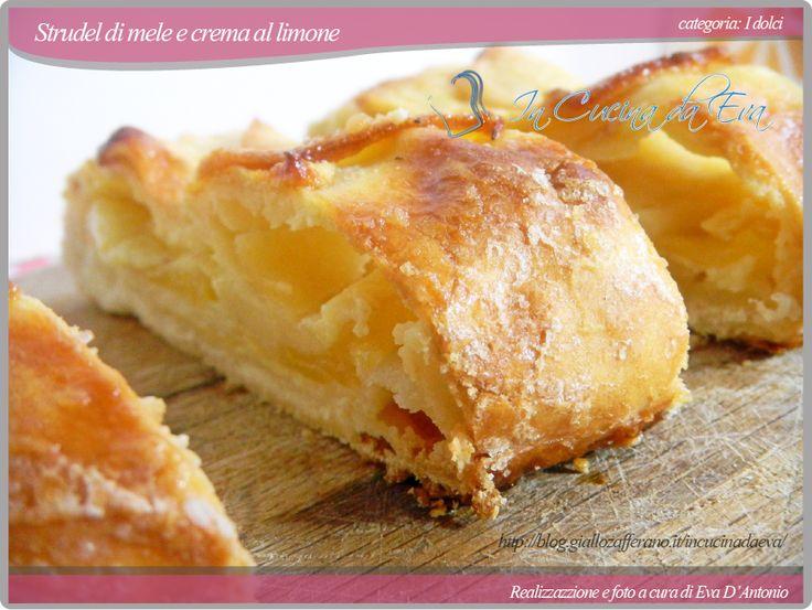 Strudel di mele e crema al limone, con grafica nuova!