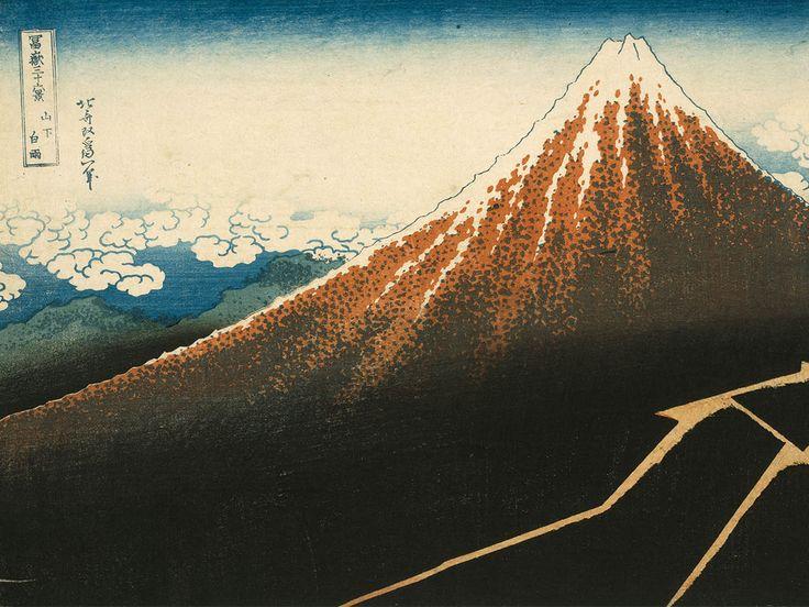 Obras-primas da xilogravura japonesa do Museu de Arte Fuji de Tóquio diretamente para o Museu Oscar Niemeyer