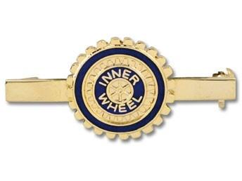 Inner Wheel Pin med barre, 19 mm. Jydsk Emblem Fabrik A/S | www.jef.dk | +45 70 27 41 11