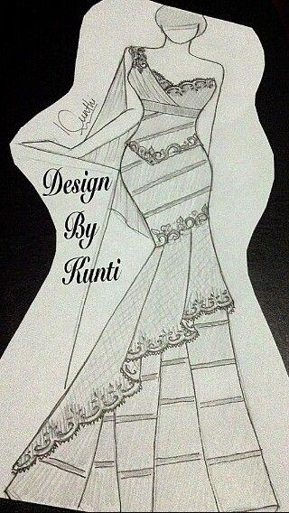 Batik combination Brokat dress