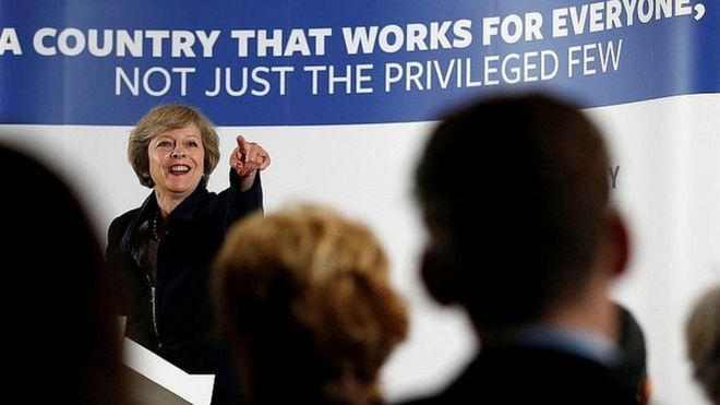 """Theresa May is set to become the UK's next prime minister after Andrea Leadsom pulled out of the contest to become Conservative Party leader. The timing of the handover of power from David Cameron is currently being discussed, but could be within days. Mrs May, 59, who backed staying in the EU, has been home secretary since 2010. Mrs Leadsom, who campaigned to leave the EU, said the UK needed """"strong and stable government"""" and that Mrs May was """"ideally placed"""" to implement Brexit. - 11.07.16"""