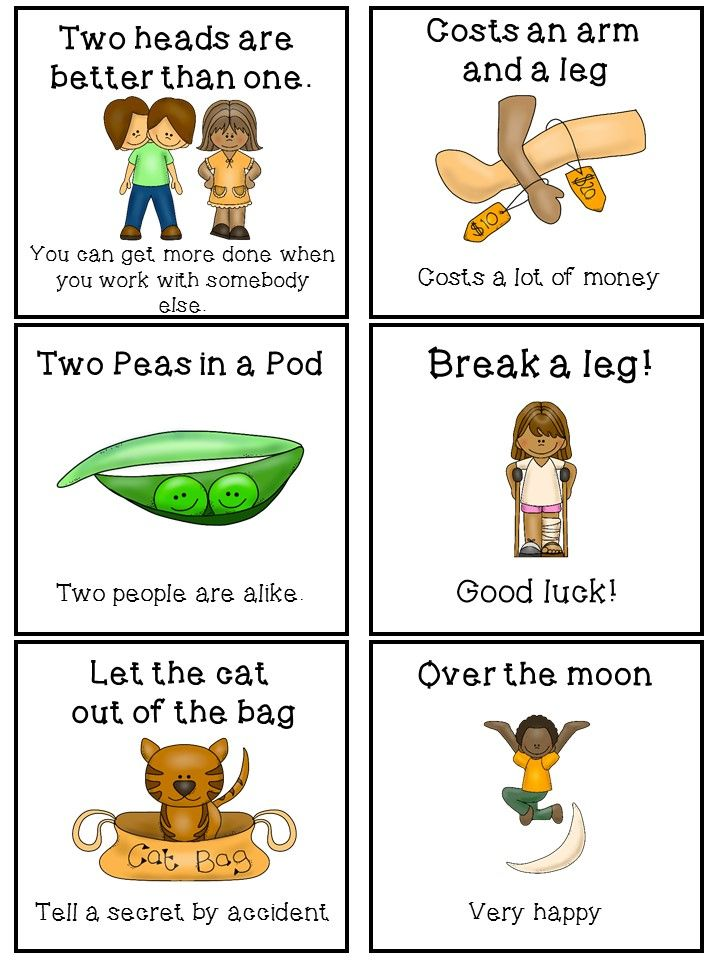 Idioms Activities