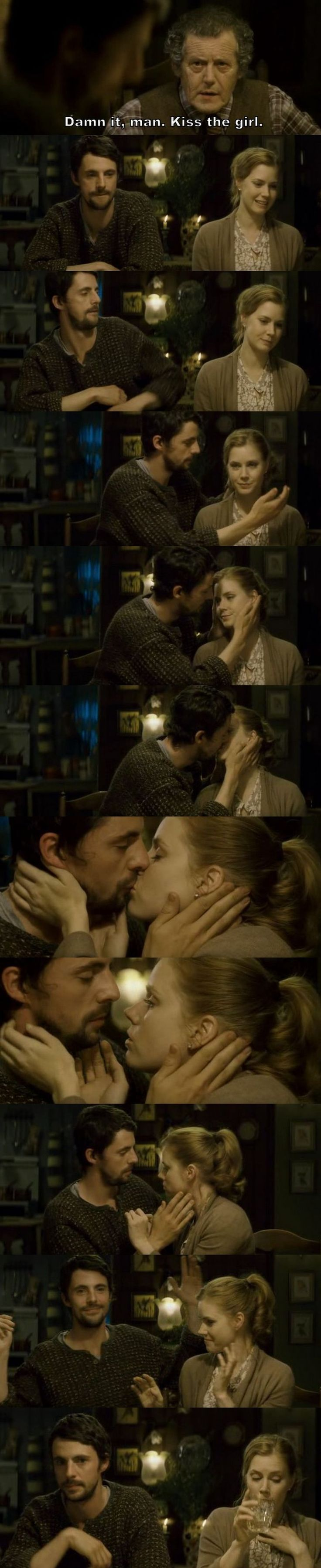 Leap Year - Declan ♥ Anna - First kiss. - Ooooh ma jaaaaaa *.*